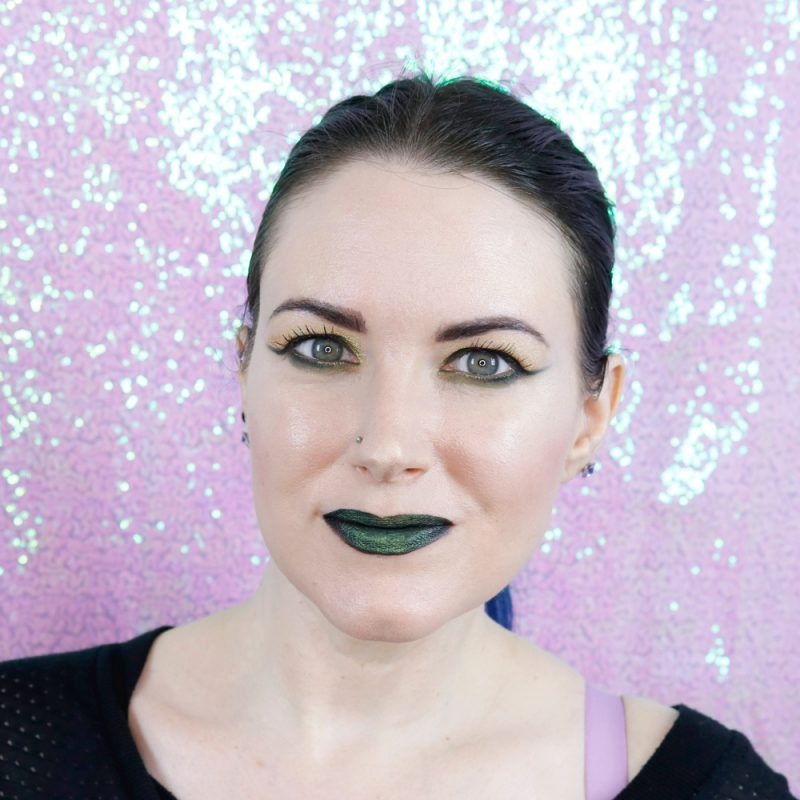 Black Moon Myth and Slime Liquid Lipsticks