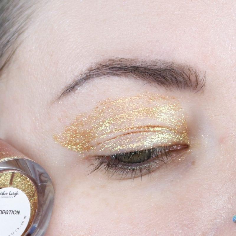 Kristen Leigh Glimmer Gel in Anticipation swatch