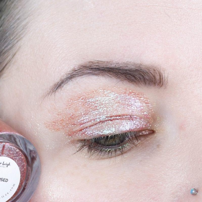 Kristen Leigh Glimmer Gel in Indisposed swatch