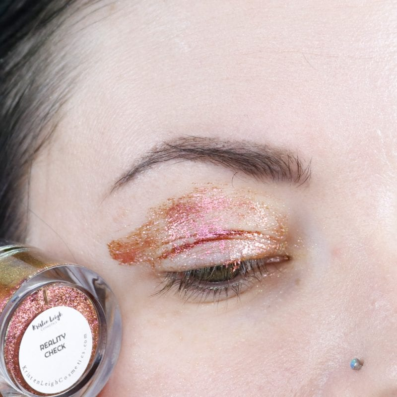 Kristen Leigh Glimmer Gel in Reality Check swatch