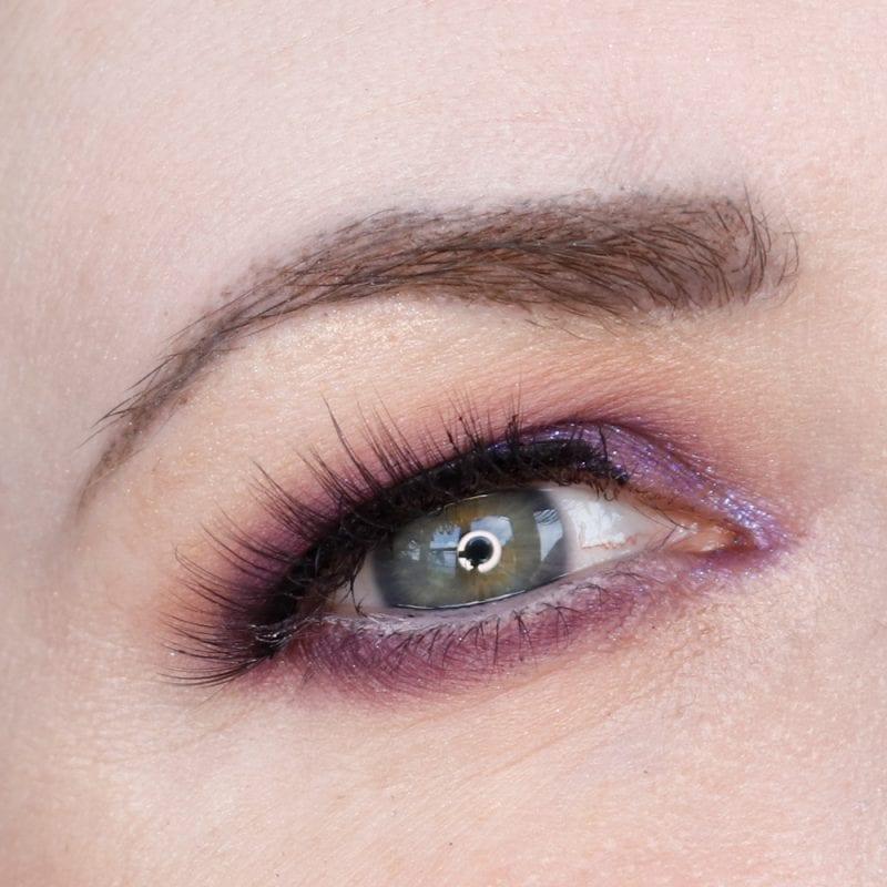 Purple Hooded Eyes Makeup Tutorial