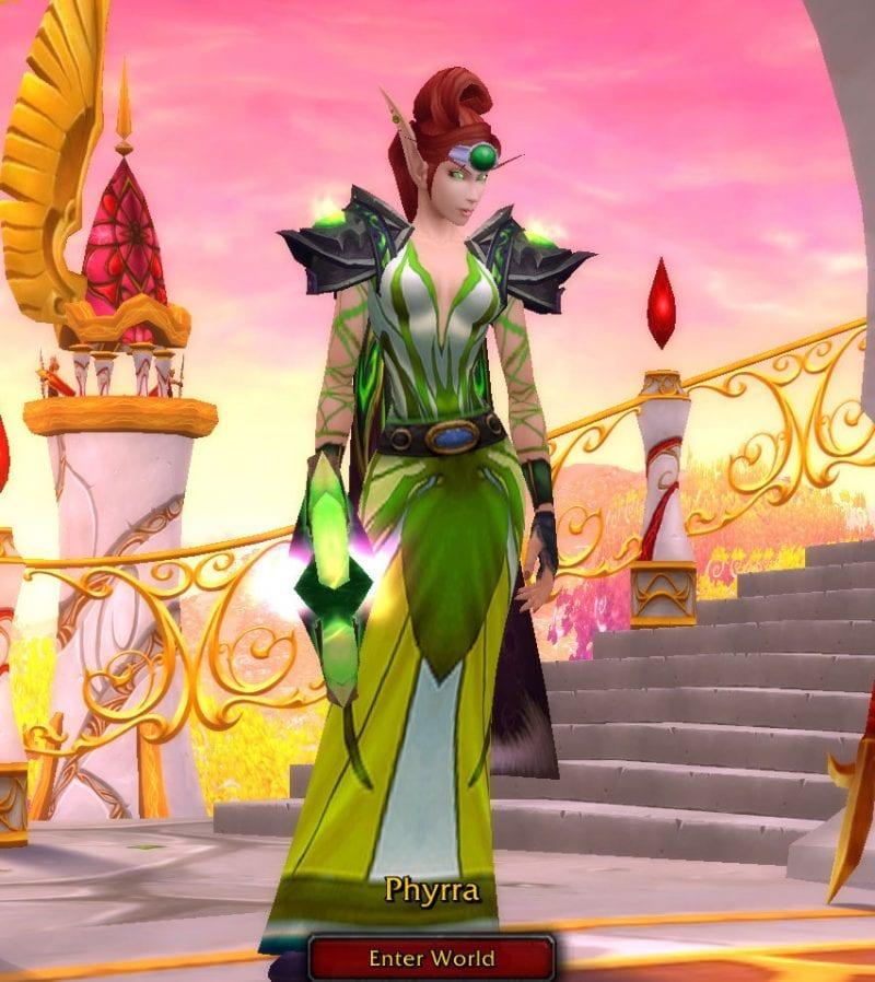74 Blood Elf Mage Phyrra