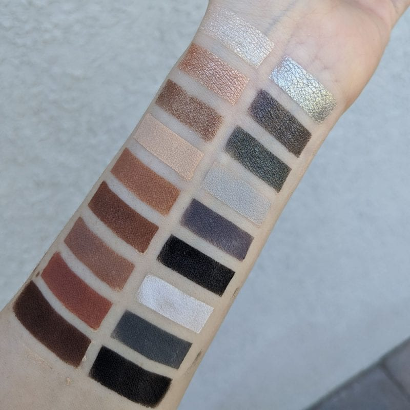 Colour Pop Blowin Smoke Swatches