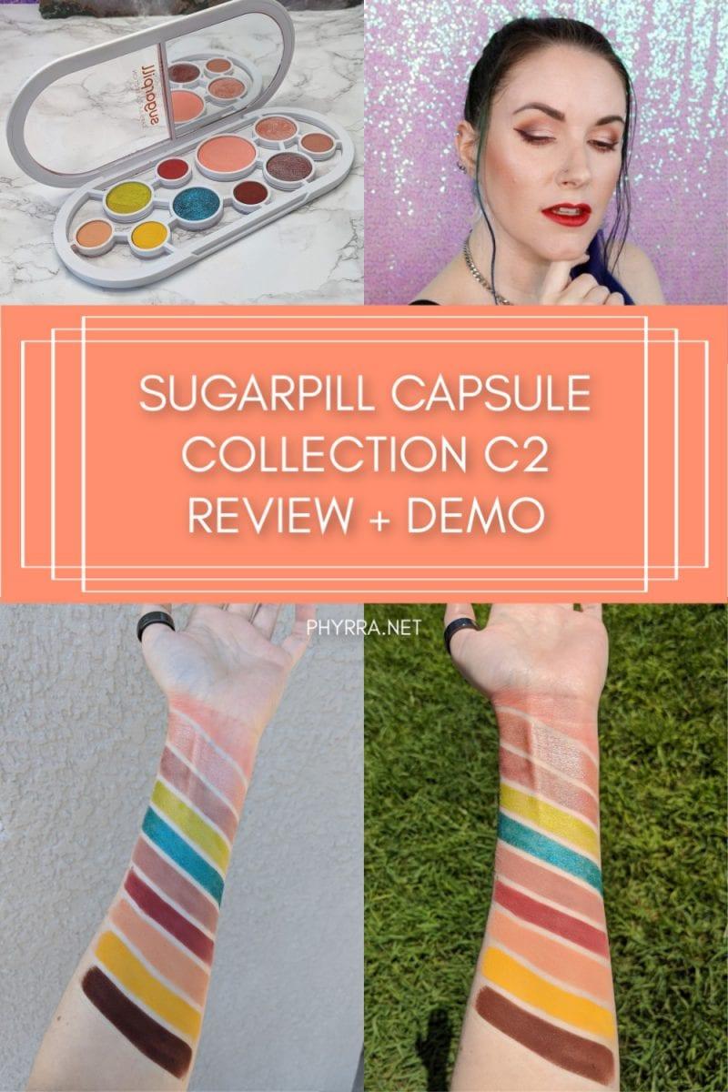 Sugarpill Capsule Collection C2 Orange Palette Review