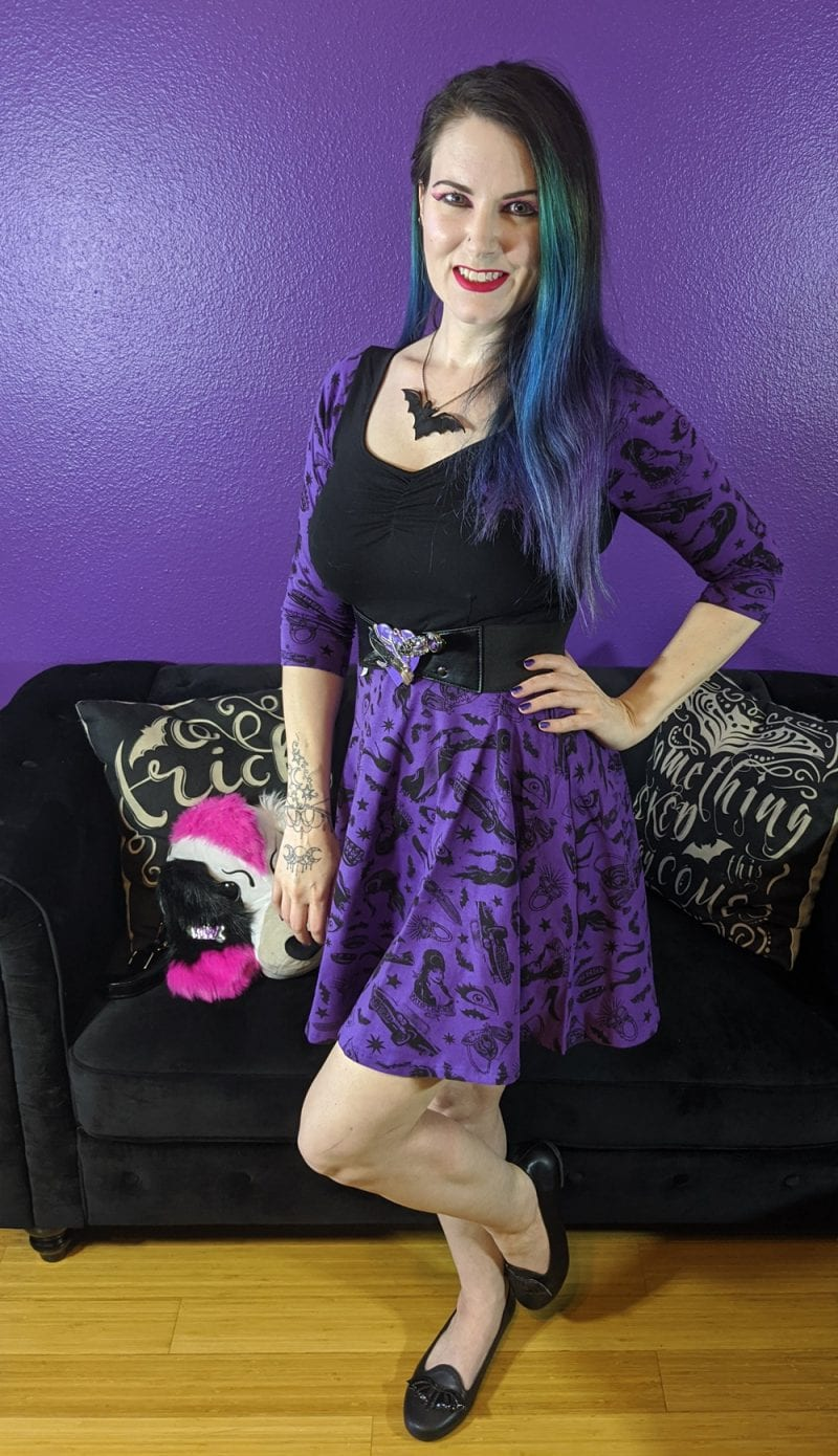 Happy World Goth Day I dressed as my favorite goth icon Elvira