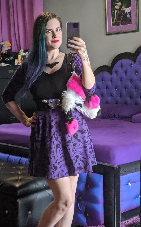 Elvira Outfit
