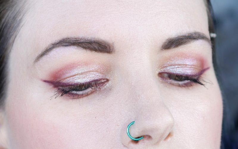 Nabla Wild Berry Palette & Cupid's Arrow Demo & Tutorial