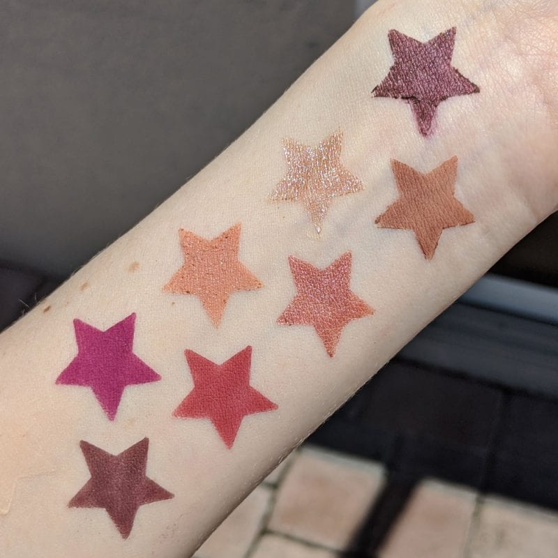 Nabla Cupid's Arrow Stylo Swatches