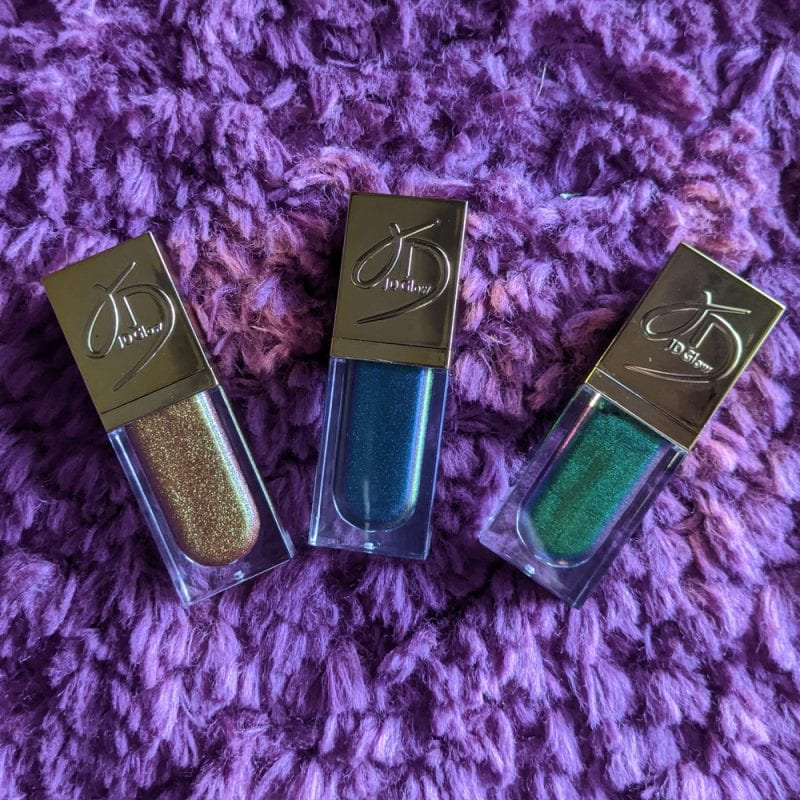 JD Glow Liquid Multichromes Review and Swatches