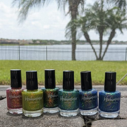 KBShimmer Endless Summer Collection Swatches