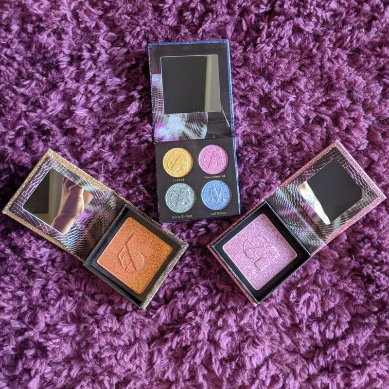 Nomad Cosmetics Studio 54 Discoshadow and Discolighters