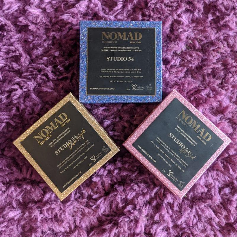 Nomad Cosmetics Studio 54 Collection