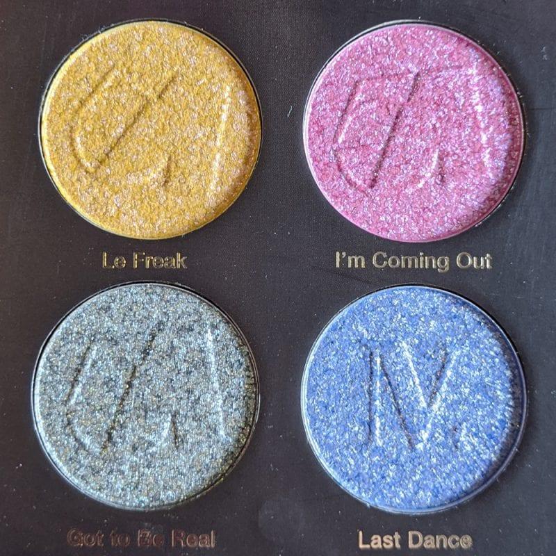 Nomad Cosmetics Studio 54 Discoshadow Palette