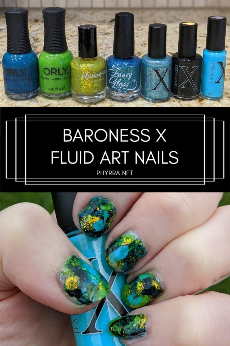Baroness X Fluid Art Nail Polish