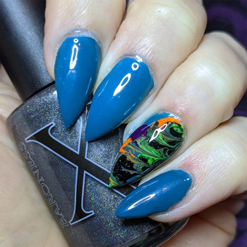 How to Create Fluid Art Nails