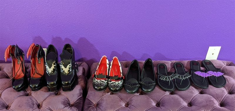 Bat Shoe Collection