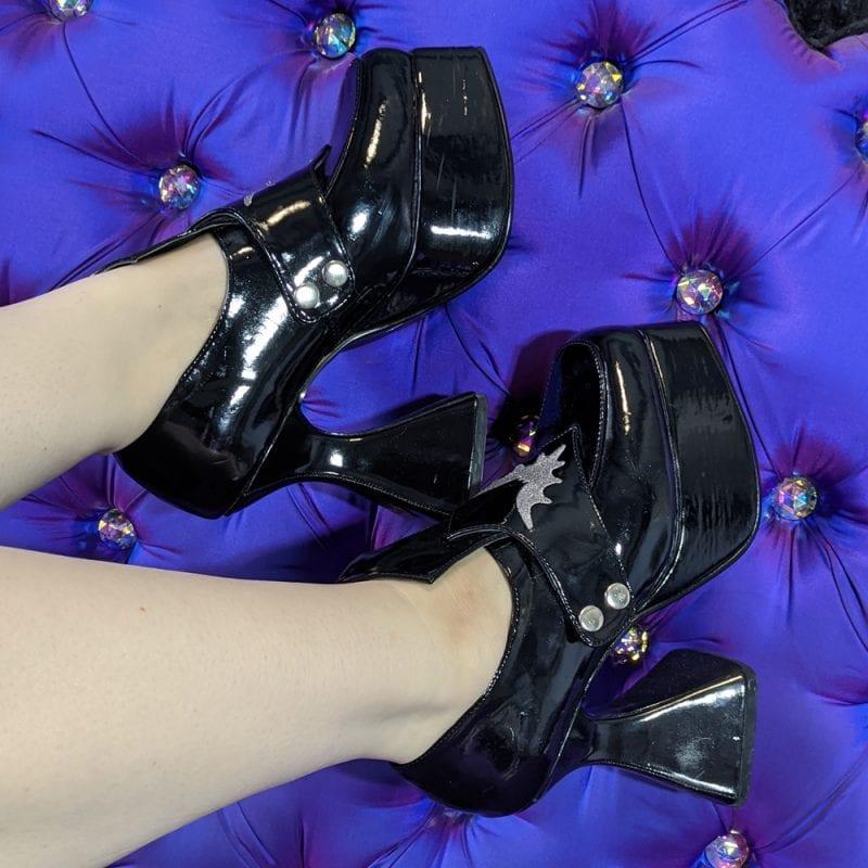 Demonia Bat Witch Shoes