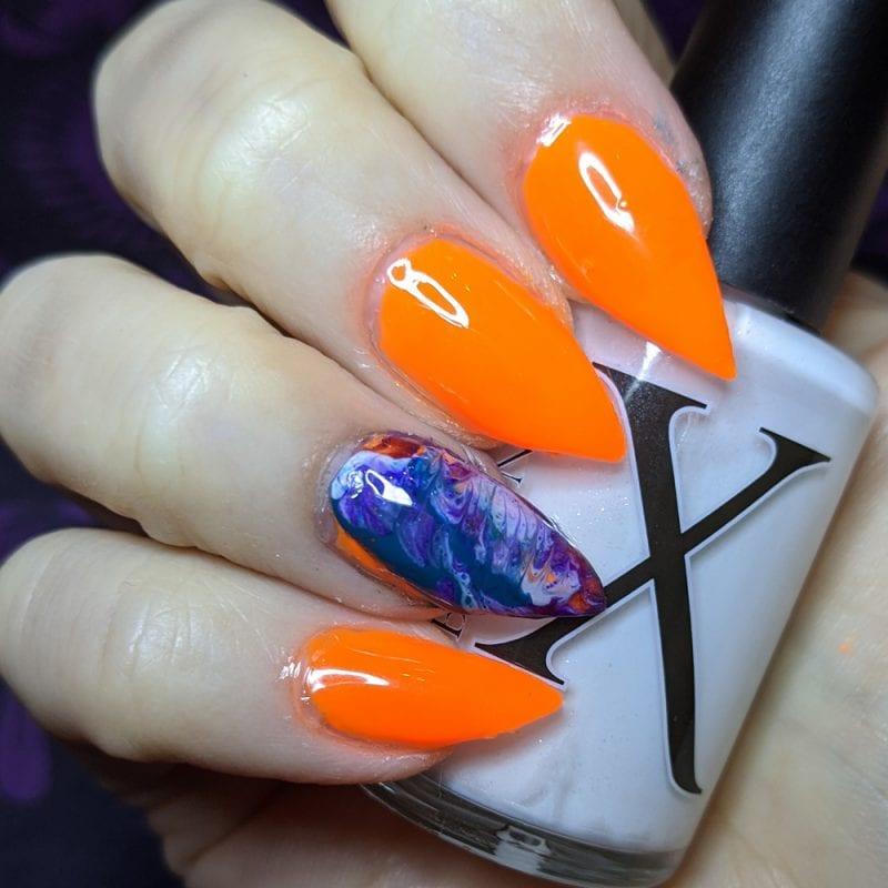 Howto Fluid Art Nails
