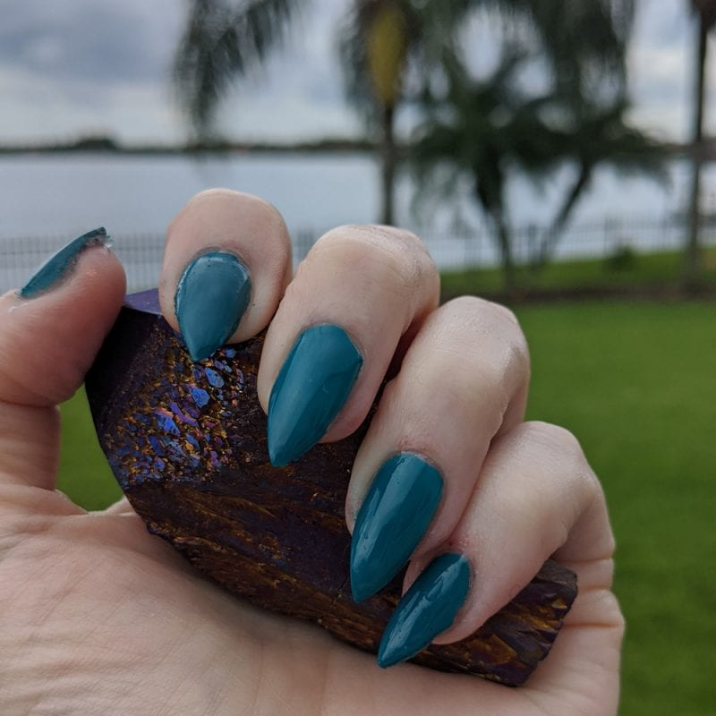 Orly Teal Unreal Mani