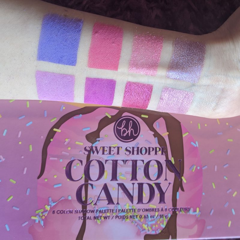BH Cosmetics Cotton Candy Palette Review