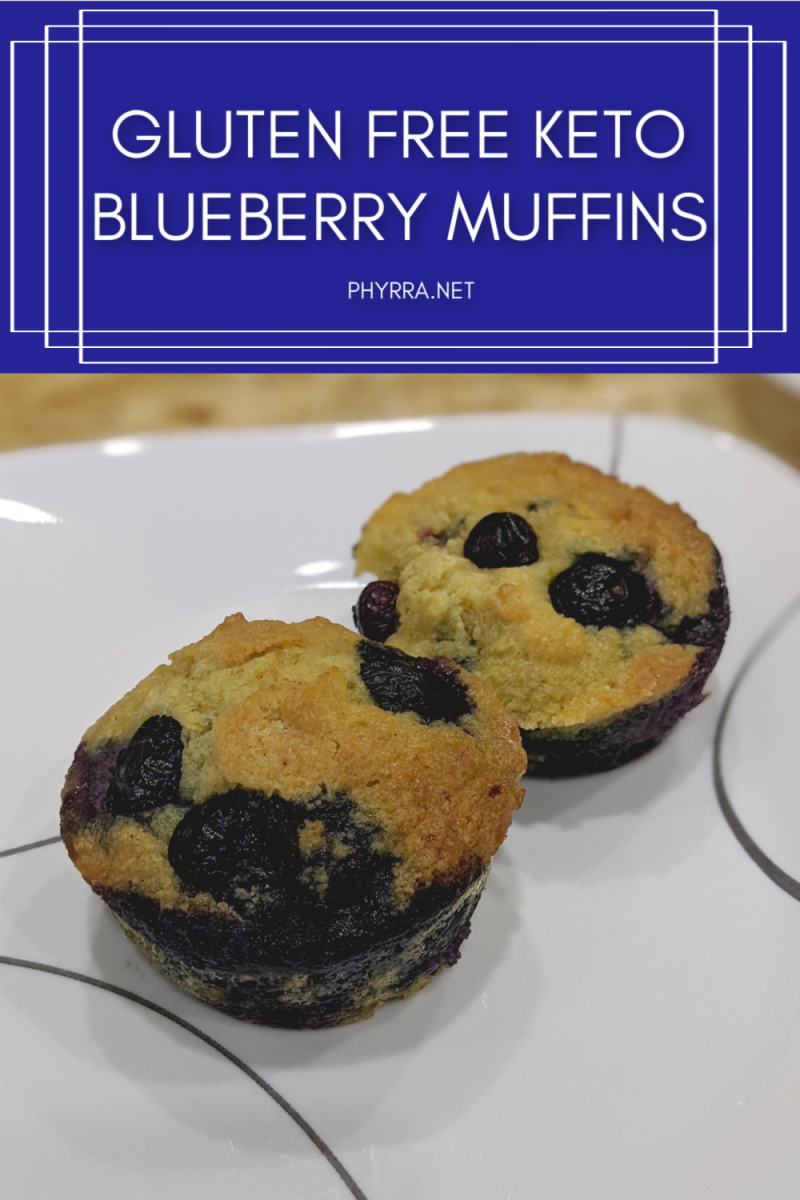Keto Gluten Free Blueberry Muffins Recipe