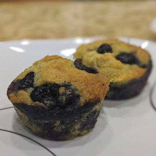 Keto Gluten Free Blueberry Muffins Recipe