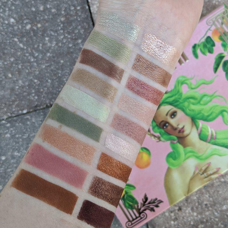 Lime Crime Venus XL 2 Palette - Vegan Modern Grunge Nude Palette