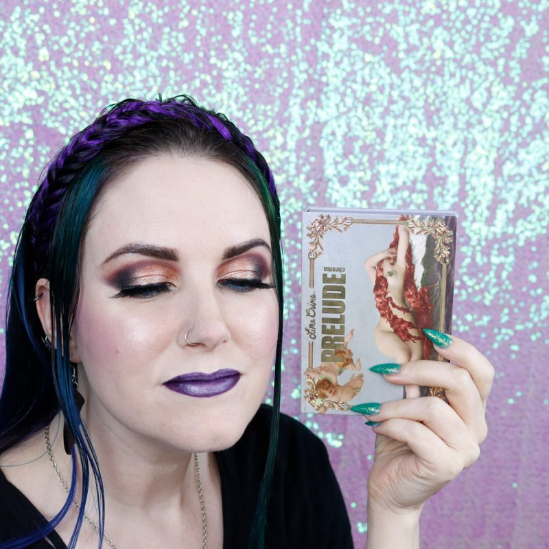 Lime Crime Prelude Chroma Palette Sunset Makeup Tutorial