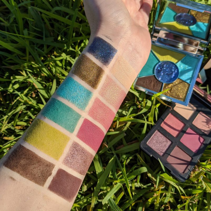 PUR Trolls World Tour Techno Palette Swatches