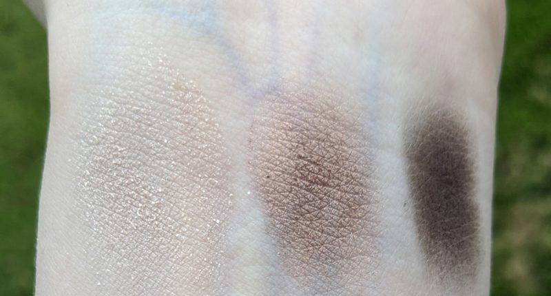Smashbox Double Tap Photo Edit Eye Shadow Trio swatches