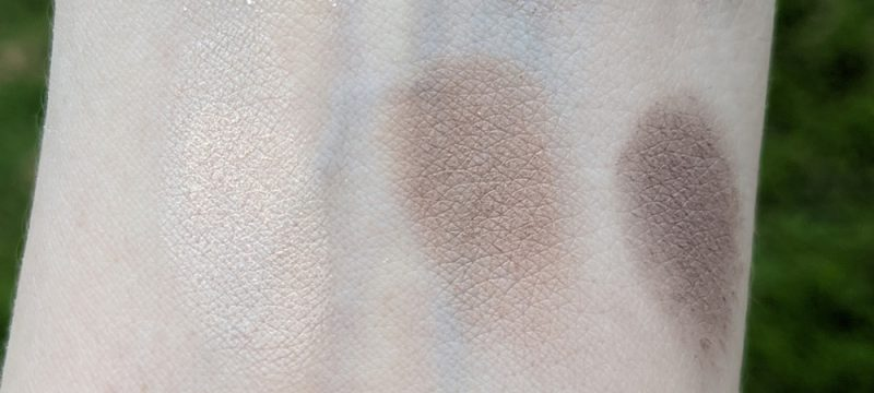 Smashbox Nudie Pic Fair Photo Edit Eye Shadow Trio swatches