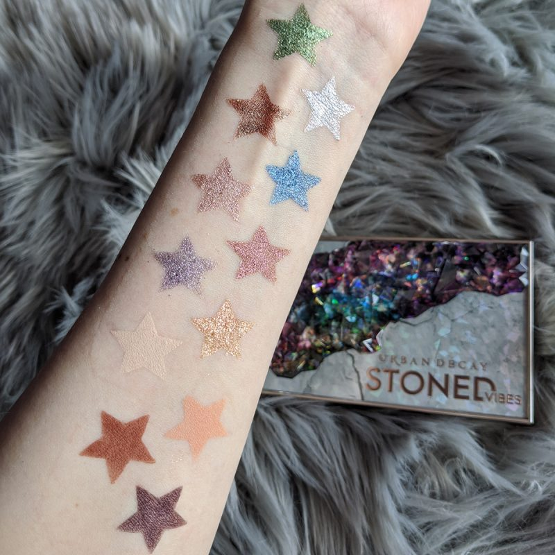Urban Decay Stoned Vibes Palette First Impressions