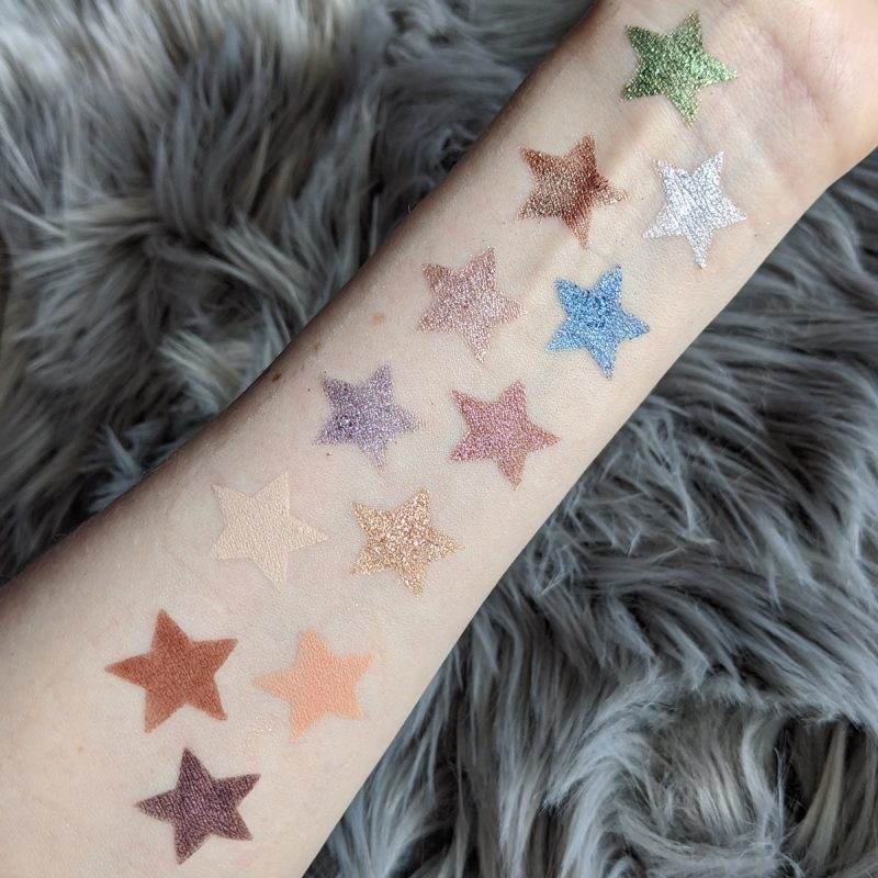 Urban Decay Stoned Vibes Vegan Palette Swatches
