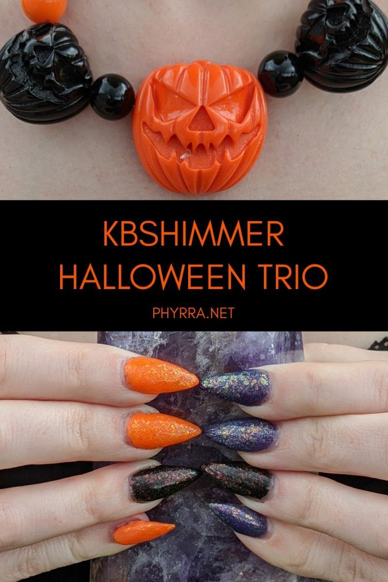 KBShimmer Halloween Trio