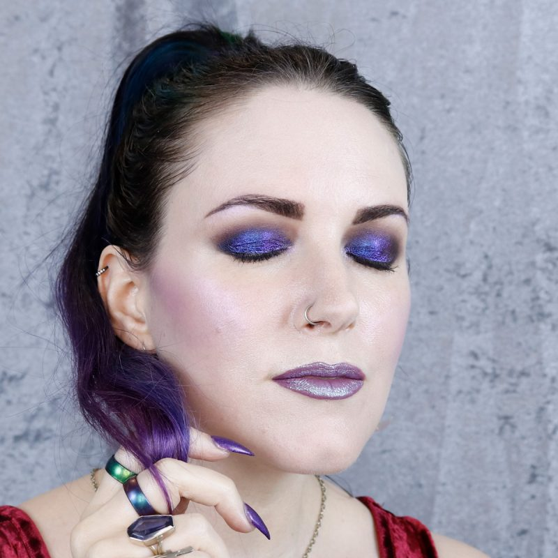 Purple Dream Makeup