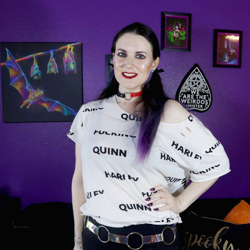 Harley Quinn Inspired Look