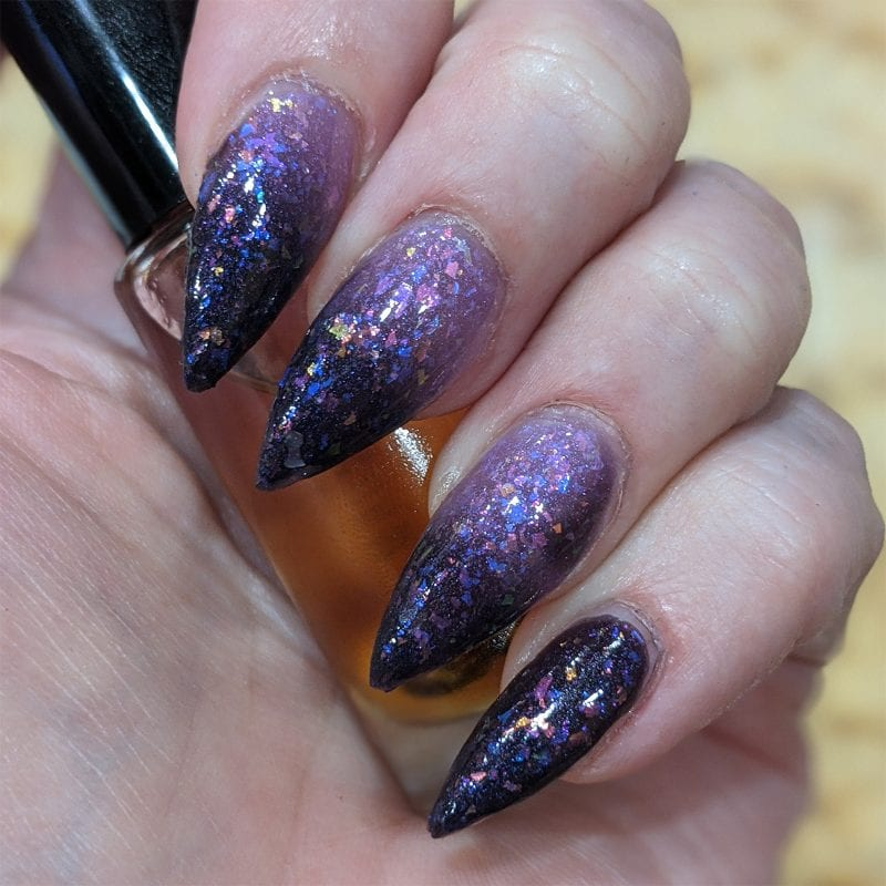KBShimmer In the Mood Nail Polish swatch