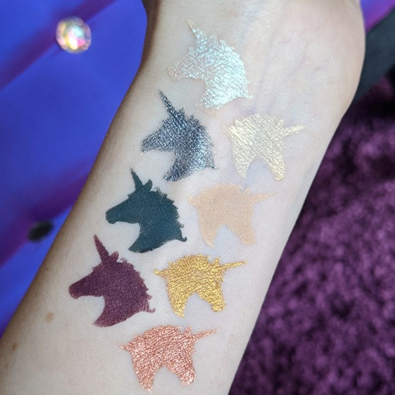 Lime Crime Prelude Chroma Palette swatches