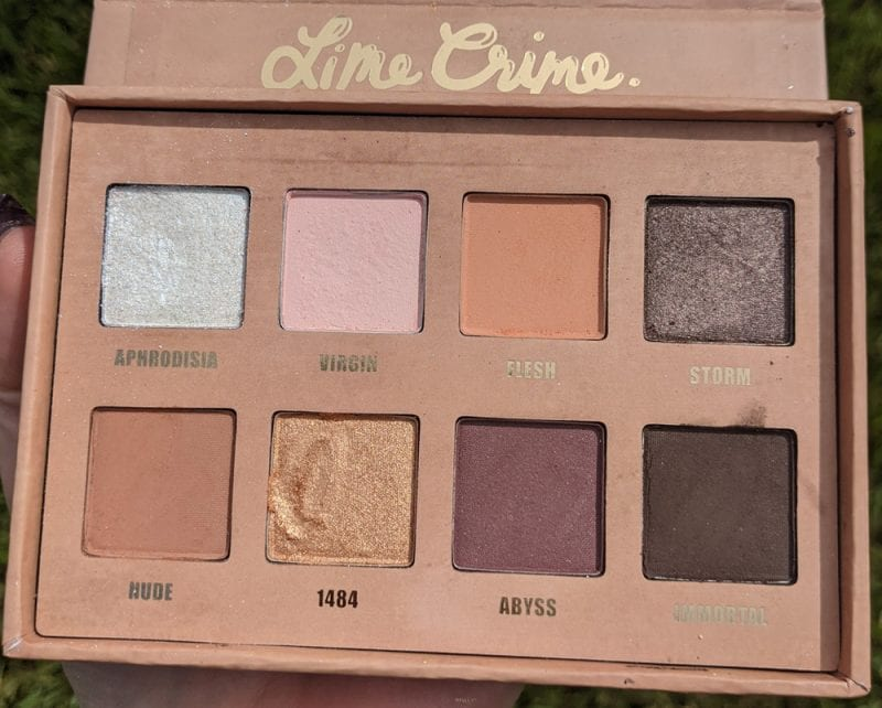 Lime Crime Prelude Exposed Palette