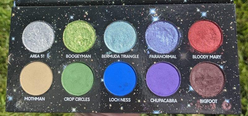 Black Moon Cosmetics Urban Myth Palette