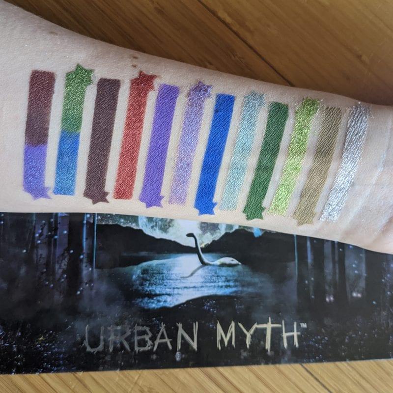 Black Moon Urban Myth Swatches