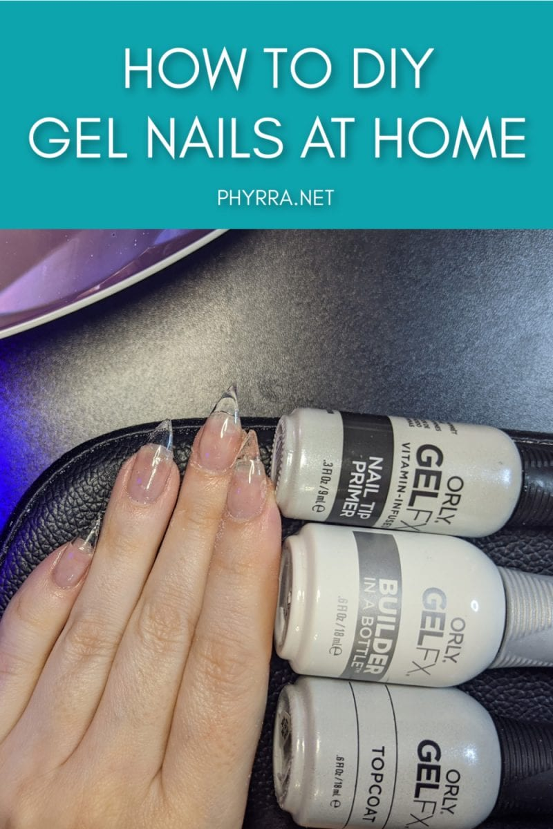 How to DIY Gel Nails at Home