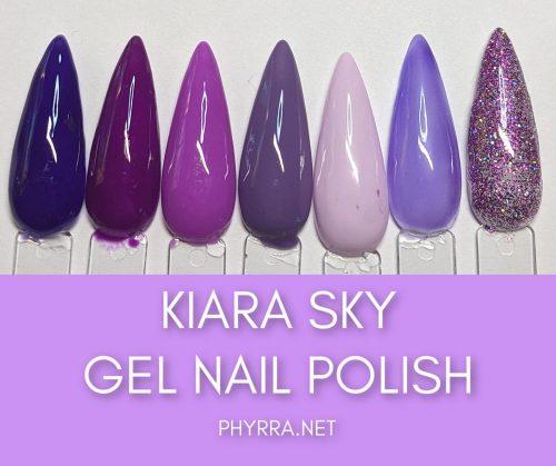 Kiara Sky Gel Nail Polish Swatches