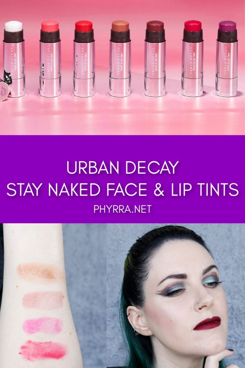 Urban Decay Stay Naked Face and Lip Tints Review