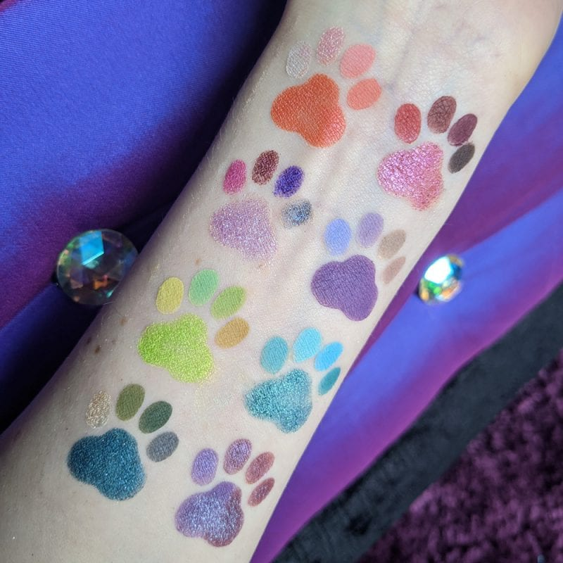 Lethal Single Eyeshadow Swatches