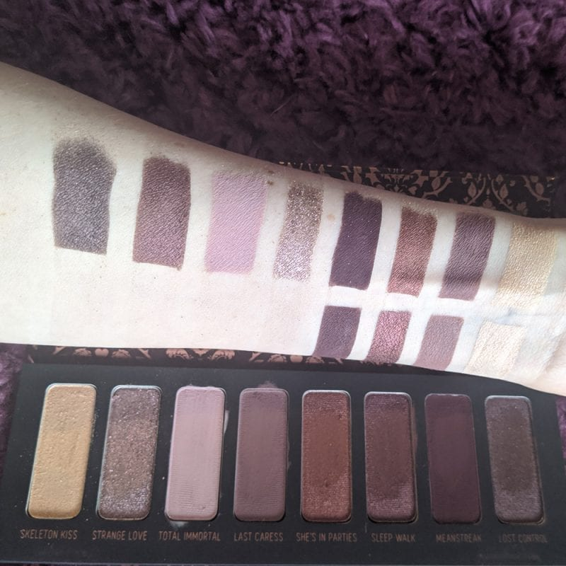 Melt She's in Parties Comparison Swatches