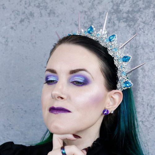 Lethal Purple Makeup Look