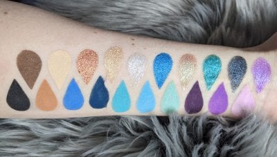 Beauty Bay Magic Palette Swatches