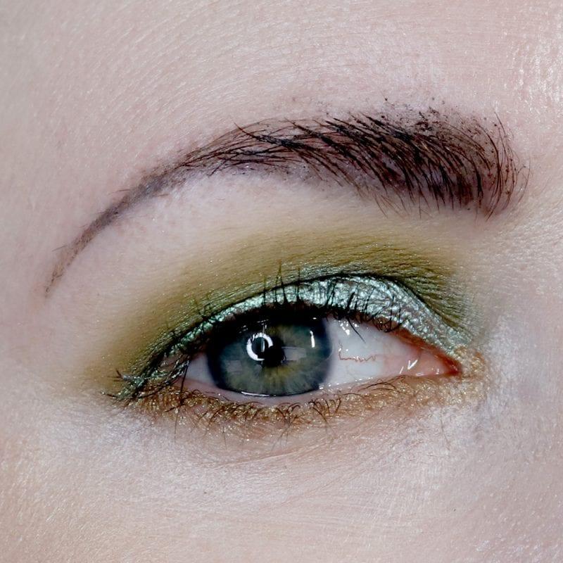 Danessa Myricks Soulmate Green Eyeshadow Look