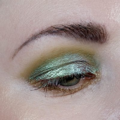 Danessa Myricks Soulmate Twin Flames Eyeshadow - opal green and bronze duochrome